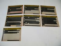 Chevy S10 82-90 S T Microfiche Light Truck Parts 7 Cards Catalog 1982-1990 OEM O