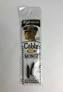 Cablz Monoz Adjustable 14In Clear/White Mono With Universal Ends