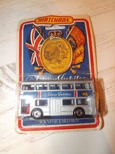 Matchbox Queens Silver Jubilee Model Bus - Superfast 75