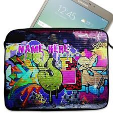 "Personalised Tablet Case GRAFFITI Neoprene Sleeve Cover 7"" 8"" 9"" 10"""