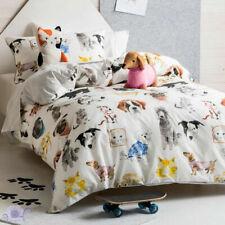 Hiccups Pets Life Quilt Duvet Doona Cover Set   Cats   K9 Dogs Poodle   Double