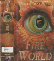 FIRE WORLD (2011) CHRIS D'LACEY, HARDCOVER FIRST EDITION