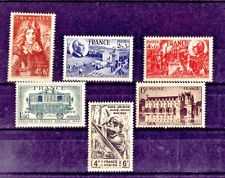 LOT DE TIMBRES N° 600/607/608/609/610/618 NEUF**