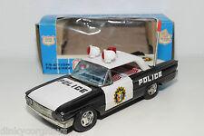 TINPLATE BLECH JAPAN ICHIKO POLICE CAR NEAR MINT BOXED RARE SELTEN RARO!!!