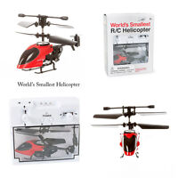 Funtime Worlds Smallest Remote Control RC Helicopter Toy Gadget Gift
