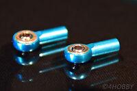 2x Alu Kugelgelenk 15 x 2mm M2 Kugelkopf Spurstange Lenkkopf Modellbau RC CNC