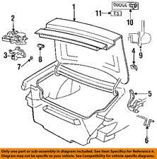 Dodge CHRYSLER OEM 1997 Intrepid Trunk Lid-Emblem Badge Nameplate GM68SA1