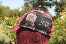 CYCLING CAP GAME OF THRONES  100%  COTTON HANDMADE IN USA ANY SIZE