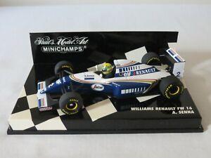 A. SENNA Williams Renault FW16 1994 Paul's Model Art Minichamps Formula 1 1:43