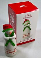 Merry Wishes Snowman - Hallmark Keepsake Christmas Ornament 2014