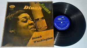 U.S. Pressing DINAH WASHINGTON Dinah Jams LP Vinyl Record