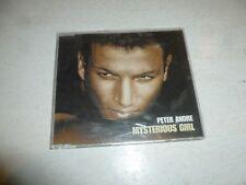 PETER ANDRE - Mysterious Girl - 2004 UK 2-track CD single