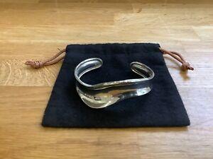 Sterling Silver Tianguis Jackson Cuff Wave Bangle Fully Hallmarked 925 Edinburgh