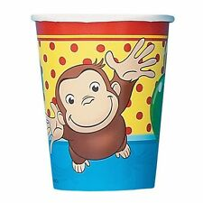 Curious George Birthday Party Paper Cups - 8 ct
