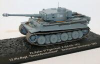 Altaya 1/72 Scale Diecast - Pz.Kpfw VI Tiger Ausf E - 13Pz Regt - Neuhammer 1943