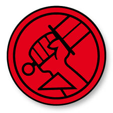 Magnet Aimant Frigo Ø38mm Hellboy Démon Enfer Comics