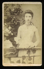 1880s CDV Portrait of Young Woman ID'd as Retha Anderson, Possibly Missouri