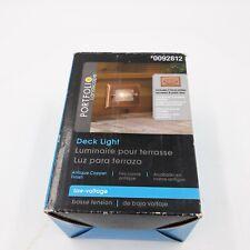 Portfolio Landscape Low Voltage Deck Light 0092812