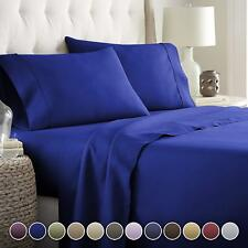 Luxury Bed Sheets Set 1800 Series Platinum Collection-Deep Pocket,Royal Full new