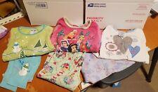 Girl 4T Fall Winter PJ Pajama Sets Clothes Lot - 3 pairs Long Sleeves Long Pants