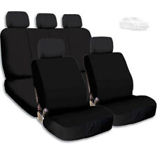 New Semi Custom Car Seat Covers Set Support Split Rear Seat For Toyota