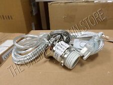Pottery Barn West Elm Mosaic Glass Pendant Chrome Light CORD KIT Set Plug In