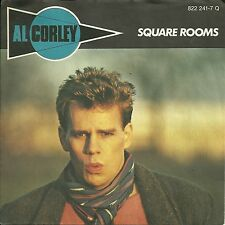 """Al Corley - Square Rooms (1984) GERMANY 7"""""""