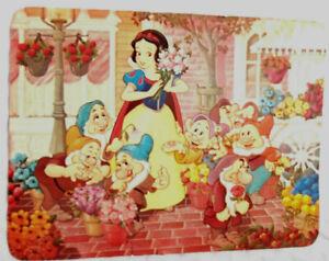 Vintage Walt Disney World Snow White & The Seven Dwarfs Post Card Photograph
