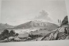 SUISSE NAPOLEON COMBAT PONT NOEFFELS GRAVURE 1838 VERSAILLES R1027 IN FOLIO