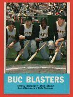1963 Topps #18 Buc Blasters EX+ Roberto Clemente Pittsburgh Pirates FREE S/H HOF
