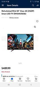 50 inch RCA rnsmu5036 4K UHD Smart tv