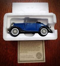 NMMM 1934 Blue Ford V6 Roadster Diecast
