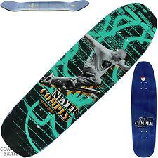 """STREET vegetale """"mai soddisfare"""" Skateboard Deck 8.5 """"X 32"""" Mike Vallely Park Street"""