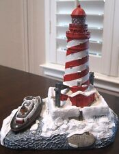 """Harbour Lights """"White Shoal Light"""" Christmas 1997 ~ Michigan ~ Signed & Numbered"""