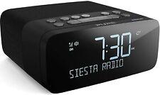 Pure Siesta Rise S DAB+/DAB/FM Digital Radio Alarm Clock with Bluetooth