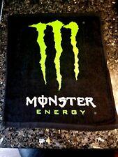 New Monster Energy Towel - hand, gym, garage, bar, sports, towel