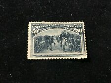 Stamps Collection Scott#240 50c Columbian Mint Ng