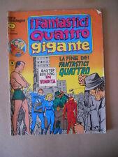 I FANTASTICI QUATTRO GIGANTE serie Cronologica n°4 1978 Corno [G758] DISCRETO