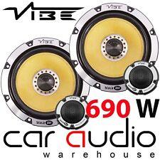 "Vibe Blackair 6 BA6 690 Watts 6.5"" 17cm Car Audio Component Door Car Speakers"