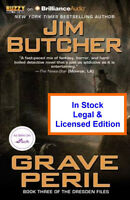 Grave Peril Audio Book  -Jim Butcher - Dresden Files CD
