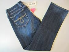 Lucky Brand Women's Size 2/26-Long Lola Boot Jean #7WD1419 Dark Blue Wash
