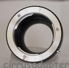 Minolta MD MC lens adapter Sony Alpha NEX-6 NEX-5N NEX-3N NEX-VG10 NEX-7 NEX-F3