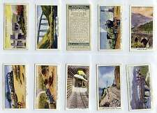 Full Set, Churchman, Wonderful Railway Travel, 1937 VG (Ls463-332)