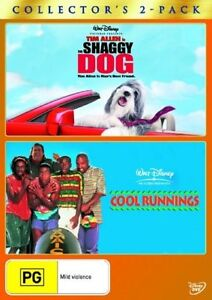 Cool Runnings  / The Shaggy Dog dvd  di454