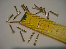 pointes laiton tête ronde 12 mm  par 1,3 mm 70 gr