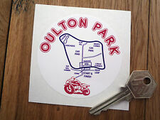 Oulton Park classic car stickers moto SUZUKI RG