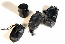 SET OF 4 MISCELLANEOUS CAMERA   FLASH CASES