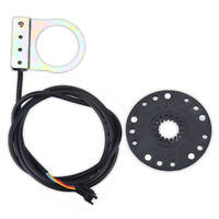 Electric Bike Power Pedal Assist Sensor Cycling Accessory Bicycle Parts Set