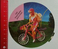 Aufkleber/Stickerspace: Barbie - Fahrrad (10081621)
