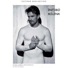 T-shirt Enrico Coveri a Manica lunga - Maglietta intima Bianco 4